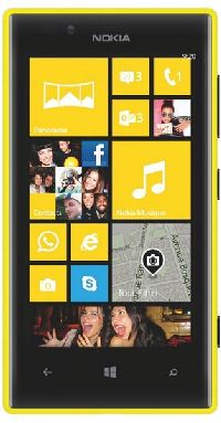 Nokia, Mobilní telefon Nokia Lumia 720, žlutá
