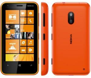 Nokia, Mobilní telefony  Nokia Lumia 620, oranžová