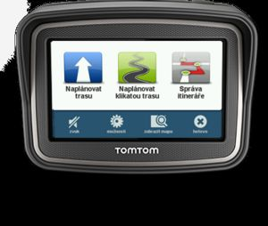 TomTom, GPS navigace GPS navigace TomTom Rider Europe LIFETIME