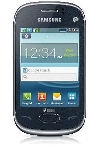 Samsung, Mobilní telefon Samsung Rex 70 DUOS S3802, Metalická modrá