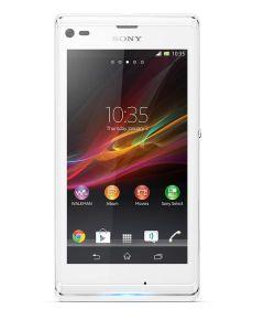 Sony, Mobilní telefony  Sony Xperia L, C2105, bílá