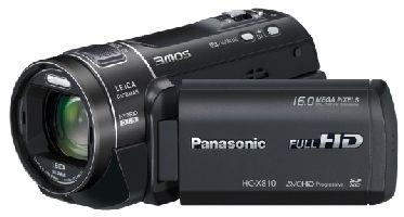 PANASONIC, Videokamera PANASONIC HC-X810EG-K