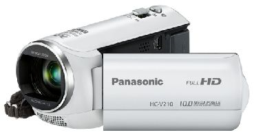PANASONIC, Videokamera PANASONIC HC-V210EP-W