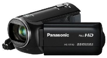 PANASONIC, Videokamera PANASONIC HC-V110 Black