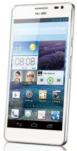 Huawei, Mobilní telefon pro seniory Huawei Ascend D2, bílý