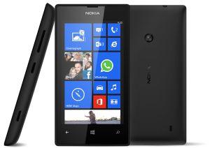 Nokia, Mobilní telefony  Nokia Lumia 520, černá