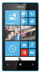Nokia, Mobilní telefony  Nokia Lumia 520, azurová