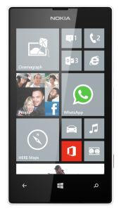 Nokia,  Nokia Lumia 520, bílá