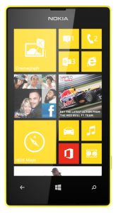 Nokia, Mobilní telefon pro seniory Nokia Lumia 520, žlutá