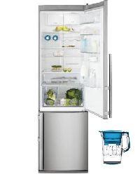 Electrolux, Lednička s mrazákem Electrolux EN3888AOX + filtrační konvice AquaSense zdarma! + okamžitá sleva 2500 Kč