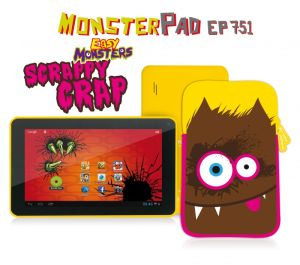EasyPix, Tablet Tablet EasyPix MonsterPad Scrappy Crap 7, Wi-Fi