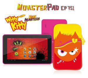 EasyPix, Tablet Tablet EasyPix MonsterPad Witty Kitty 7, Wi-Fi