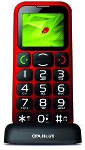 myPhone, Mobil pro seniory Mobil pro seniory myPhone Halo 9, červený