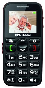 myPhone, Mobil pro seniory Mobil pro seniory myPhone Halo 6i, černý