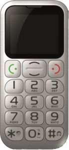 myPhone, Mobil pro seniory Mobil pro seniory myPhone Halo 9, stříbrný