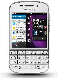 BlackBerry, Mobilní telefon pro seniory BlackBerry Q10 QWERTY, bílá