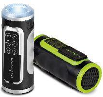 Energy Sistem, MP3/MP4 přehrávač Energy Sistem Bike Music Box (Black/Green)