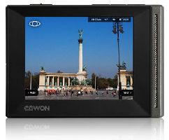 Cowon iAudio, MP3/MP4 přehrávač Cowon iAudio D20 / 16GB (Black)