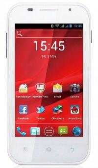 Prestigio, Mobilní telefon pro seniory Prestigio MultiPhone PAP4044DUO, bílý