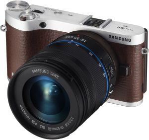Samsung, Fotoaparát Fotoaparát Samsung NX300 Brown + 18-55 mm