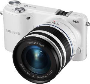 Samsung, Fotoaparát Fotoaparát Samsung NX2000 White + 20 - 50 mm