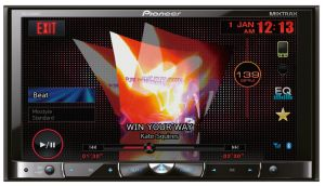 Pioneer, 2-din autorádio 2-din autorádio Pioneer AVH-X8500BT
