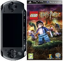 Sony, PSP Sony PSP-E1004 Black + LEGO Harry Potter 5-7