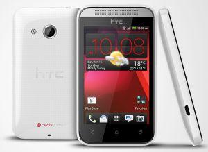 HTC, Mobilní telefon pro seniory HTC Desire 200 (G2), 102e, bílé