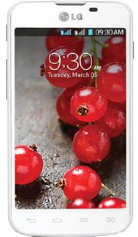 LG, Mobilní telefon pro seniory LG E455 Optimus L5 II Dual SIM, bílá