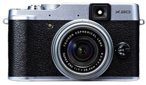 FujiFilm, Fotoaparát Fotoaparát FujiFilm FinePix X20 Silver + originální pouzdro ZDARMA!