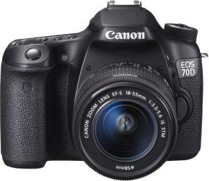 Canon, Fotoaparát Fotoaparát Canon EOS 70D +18-55 STM