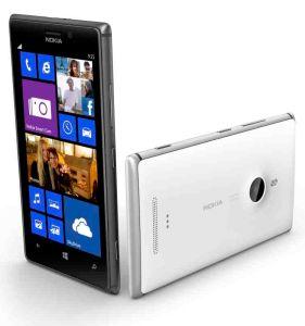 Nokia,  Nokia Lumia 925 White + bezdrátová nabíječka navíc