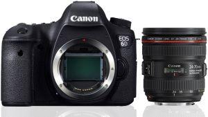 Canon, Fotoaparát Fotoaparát Canon EOS 6D + 24-70 mm f/4,0 L IS USM