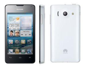 Huawei, Mobilní telefony  Huawei Ascend Y300, bílo-černý