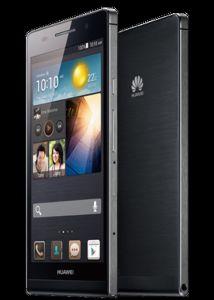 Huawei, Mobilní telefon pro seniory Huawei Ascend P6, černý