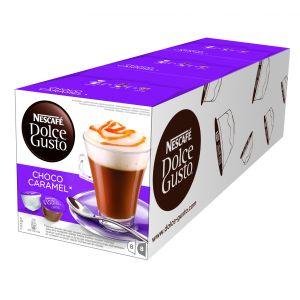 Nescafé, Kávovar Kávovar Nescafé DOLCE GUSTO Choco Caramel 3balení