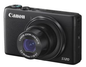 Canon, Fotoaparát Fotoaparát Canon PowerShot S120 Black