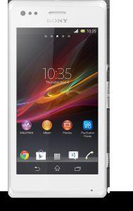 Sony,  Sony Xperia M, C1905, bílá