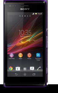 Sony, Mobilní telefon Sony Xperia M, C1905, purpurová