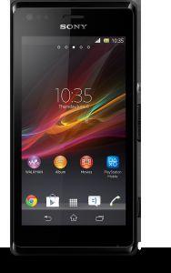 Sony, Mobilní telefony  Sony Xperia M, C1905, černá