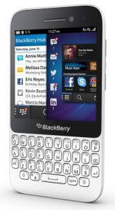 BlackBerry, Mobilní telefony  BlackBerry Q5 QWERTY, bílá