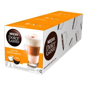 Nescafé, Kávovar Kávovar Nescafé DOLCE GUSTO LATTÉ MACCHIATO 3balení