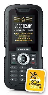 Evolveo, Mobilní telefon Evolveo Gladiator RG250, černý