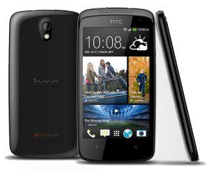 HTC,  HTC Desire 500, černý