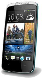 HTC,  HTC Desire 500, modrý