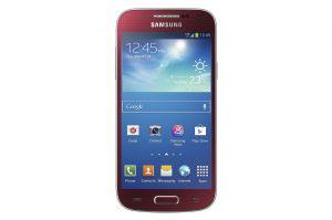 Samsung,  Samsung Galaxy S 4 mini i9195, NFC, LTE, červený