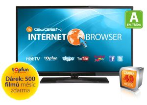 Gogen, LED televize LED televize Gogen TVL 32137 WEB
