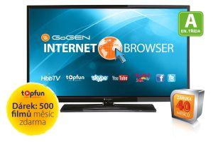 Gogen, LED televize LED televize Gogen TVL 50147 WEB