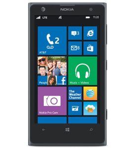 Nokia,  Nokia Lumia 1020, černá