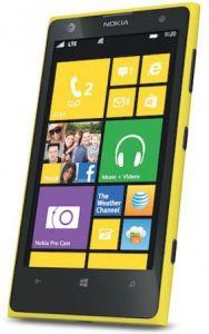 Nokia,  Nokia Lumia 1020, žlutá